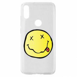 Чохол для Xiaomi Mi Play Nirvana Logo 3D