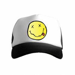 Дитяча кепка-тракер Nirvana Logo 3D