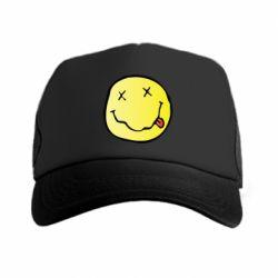 Кепка-тракер Nirvana Logo 3D - FatLine