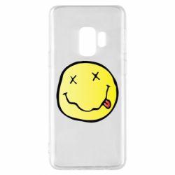 Чохол для Samsung S9 Nirvana Logo 3D