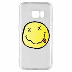 Чохол для Samsung S7 Nirvana Logo 3D