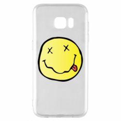 Чохол для Samsung S7 EDGE Nirvana Logo 3D