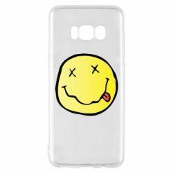 Чохол для Samsung S8 Nirvana Logo 3D