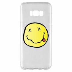 Чохол для Samsung S8+ Nirvana Logo 3D