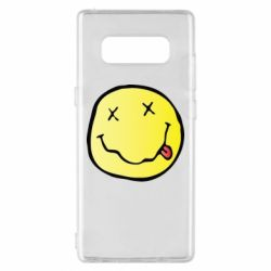 Чохол для Samsung Note 8 Nirvana Logo 3D