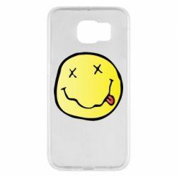 Чохол для Samsung S6 Nirvana Logo 3D