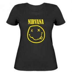 Жіноча футболка Nirvana (Нірвана) - FatLine