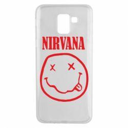 Чехол для Samsung J6 Nirvana (Нирвана) - FatLine