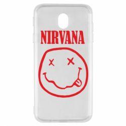 Чехол для Samsung J7 2017 Nirvana (Нирвана) - FatLine