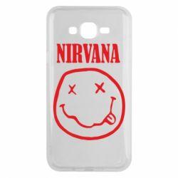 Чехол для Samsung J7 2015 Nirvana (Нирвана) - FatLine