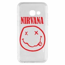 Чехол для Samsung A3 2017 Nirvana (Нирвана) - FatLine