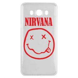 Чехол для Samsung J7 2016 Nirvana (Нирвана) - FatLine