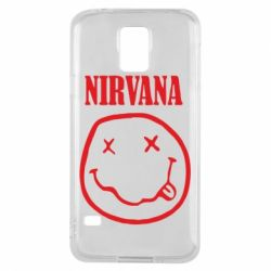 Чехол для Samsung S5 Nirvana (Нирвана) - FatLine