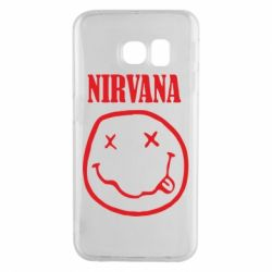 Чехол для Samsung S6 EDGE Nirvana (Нирвана) - FatLine