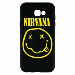 Чехол для Samsung A7 2017 Nirvana (Нирвана) - FatLine