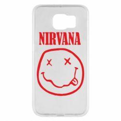 Чехол для Samsung S6 Nirvana (Нирвана) - FatLine