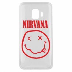 Чехол для Samsung J2 Core Nirvana (Нирвана) - FatLine