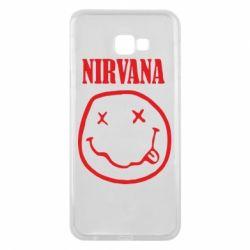 Чехол для Samsung J4 Plus 2018 Nirvana (Нирвана) - FatLine