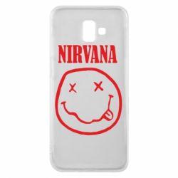 Чехол для Samsung J6 Plus 2018 Nirvana (Нирвана) - FatLine