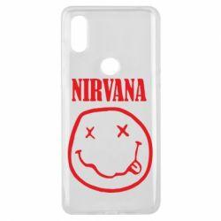 Чехол для Xiaomi Mi Mix 3 Nirvana (Нирвана) - FatLine