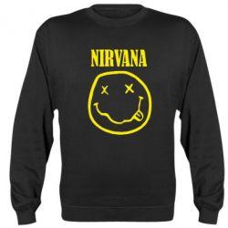 Реглан (свитшот) Nirvana (Нирвана) - FatLine