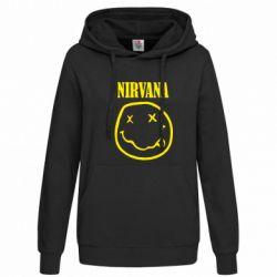 Женская толстовка Nirvana (Нирвана) - FatLine