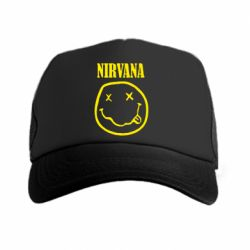 Кепка-тракер Nirvana (Нирвана) - FatLine