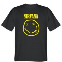 Мужская футболка Nirvana (Нірвана) - FatLine