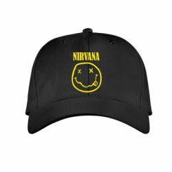 Детская кепка Nirvana (Нирвана) - FatLine