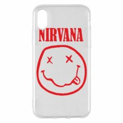 Чехол для iPhone X/Xs Nirvana (Нирвана)