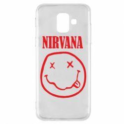 Чехол для Samsung A6 2018 Nirvana (Нирвана) - FatLine