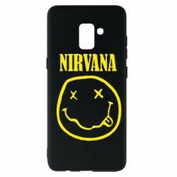 Чехол для Samsung A8+ 2018 Nirvana (Нирвана) - FatLine