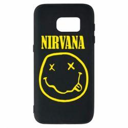 Чехол для Samsung S7 Nirvana (Нирвана) - FatLine