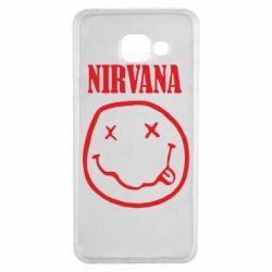 Чехол для Samsung A3 2016 Nirvana (Нирвана) - FatLine