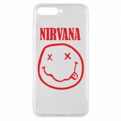 Чехол для Huawei Y6 2018 Nirvana (Нирвана) - FatLine