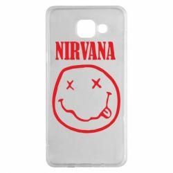 Чехол для Samsung A5 2016 Nirvana (Нирвана) - FatLine
