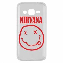 Чехол для Samsung J2 2015 Nirvana (Нирвана) - FatLine