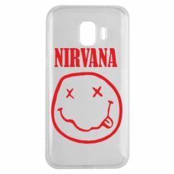 Чехол для Samsung J2 2018 Nirvana (Нирвана) - FatLine