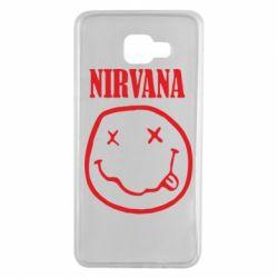 Чехол для Samsung A7 2016 Nirvana (Нирвана) - FatLine