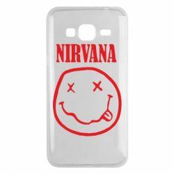 Чехол для Samsung J3 2016 Nirvana (Нирвана) - FatLine