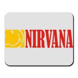 Коврик для мыши Nirvana смайл - FatLine