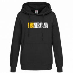 Женская толстовка Nirvana смайл - FatLine