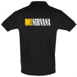 Футболка Поло Nirvana смайл - FatLine