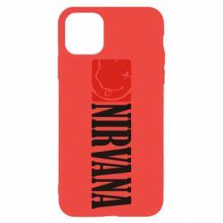 Чехол для iPhone 11 Pro Max Nirvana смайл