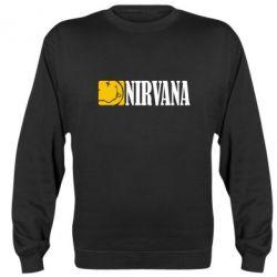 Реглан (свитшот) Nirvana смайл - FatLine