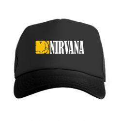 Кепка-тракер Nirvana смайл