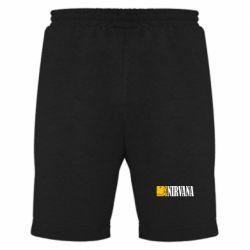 Мужские шорты Nirvana смайл - FatLine