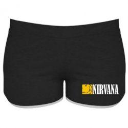 Женские шорты Nirvana смайл - FatLine