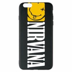 Чехол для iPhone 6 Plus/6S Plus Nirvana смайл