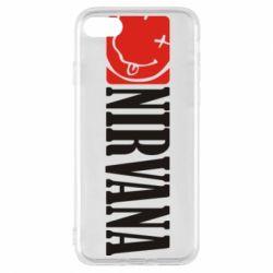 Чехол для iPhone 8 Nirvana смайл